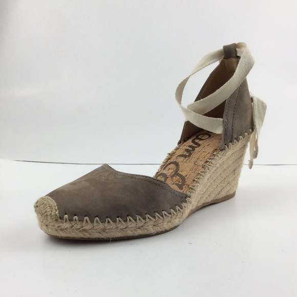 47110b42593 Sam Edelam Patsy Espadrille Womens Wedge Sandal Boutique